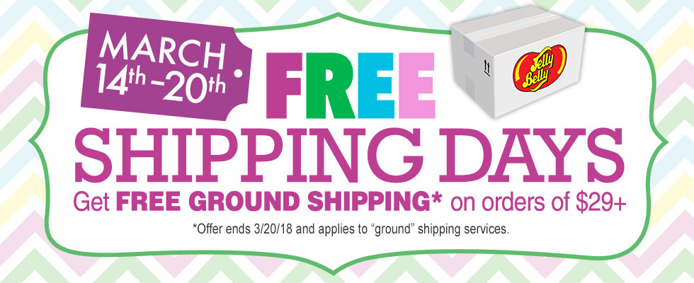 FREE ground shipping on all orders over $29.