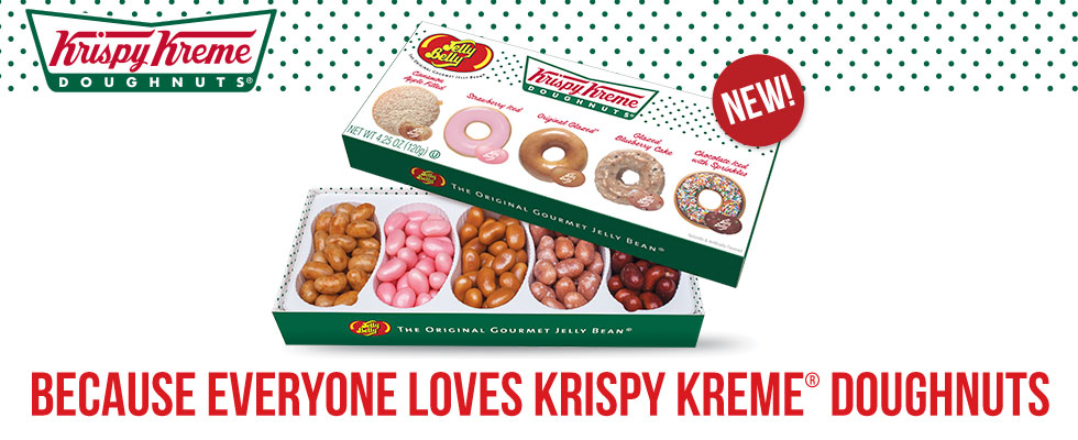 Introducing Krispy Kreme Jelly Belly Jelly Beans