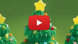 How to make Pumpkin Patch Cupcakes Video